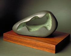 Dame Barbara Hepworth, Figure in a Landscape (Zennor) by Dame Barbara Hepworth, 1966 Abstract Sculpture, Sculpture Art, Memorial Museum, Action Painting, Barbara Hepworth, English Artists, Stone Sculpture, Small Art, Land Scape