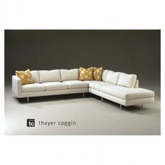 Swag Sectional By Thayer Coggin Modern And Contemporary Furniture Made In The Usa Advance Buffalo Ny Contemporaryfurniture