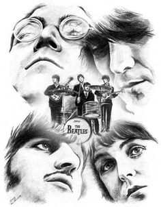 The Beatles♡ John, George, Ringo, and Paul. Some things never get old...