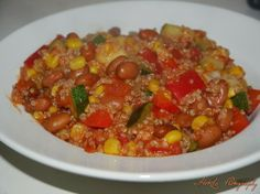 Superfood - supergood? : Vegetarische Chili sin carne maar toch iets anders http://superfood-supergood.blogspot.fr/