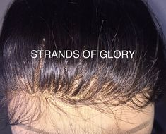 Customized Lace Frontal by StrandsofGloryWigs on Etsy