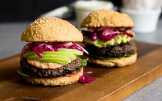 <p>These mushroom and lentil burgers are a two-for-one power combo of flavor and protein. </p>