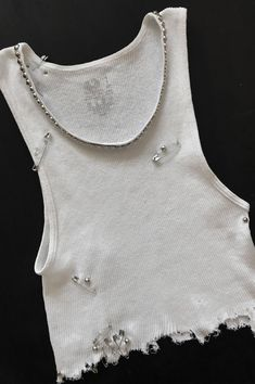966efdb84def79 One More Chance Vintage - Punk Rock Lies Cutoff Studded