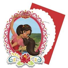 Diseny Elena Of Avalor Birthday Paty Supplies Choose Required Item 3rd Birthday Parties, Birthday Cake, Invitation Envelopes, Invitations, Kids Party Themes, Party Ideas, Princesas Disney, Cartoon Characters, Shapes