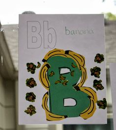 Letter of the Week B | A Little Wall