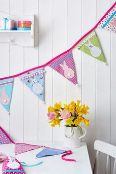 Festoon your home with out Easter bunting, Issue 70