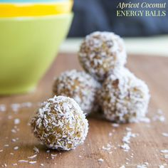 Apricot Coconut Energy Balls are a quick and easy healthy snack recipe that are fun to make and eat, and packed with nutritious ingredients.