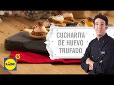 Cucharita de Huevo Trufado - Recetas David García - YouTube