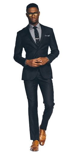 Essential Navy Suit.....Get $50 off your first purchase of $300 on regular priced suits at Indochino.