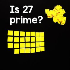If your students struggle with the idea of prime vs. composite numbers, this hands-on investigation activity into prime numbers may be helpful, especially to the kinesthetic learners in your classroom. Prime And Composite Numbers, Prime Numbers, Math Word Walls, Math Words, Student Work, You Tried, Maths, Investigations, Composition