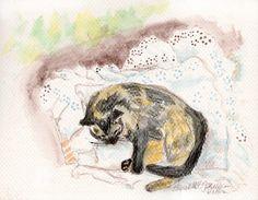 Daily Sketch: Kelly's Nap