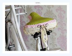 ❤ Crochet Bike Saddle      Nach meinem kurzen Trip in Amsterdam bin ich verrück…