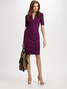 My friends think that I have too many purple dresses. Seeing this, I think I clearly have one too few.