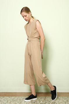Jumpsuit Nishi in Tencel Gabardine Colors