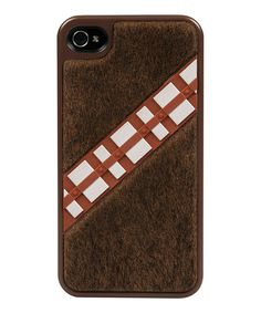 A fuzzy Chewbacca case. I can't even handle it!!! :: Star Wars Chewbacca Case for iPhone