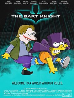 The Simpsons Parodies for Inspiration, The Dark Knight.