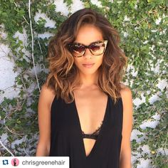 """341 Likes, 13 Comments - Lesley-Ann Brandt (@lesleyannbrandt) on Instagram: """"When @chrisgreenehair from @mechesalonla does my color I feel like this guy ➡️  #Repost…"""""""