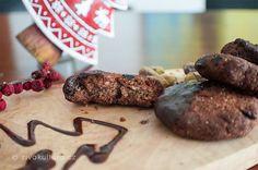 Polomáčené brusinkové sušenky s pistáciovými ořechy – Živá kultura Paleo Baking, Sausage, Steak, Food, Sausages, Essen, Steaks, Meals, Yemek