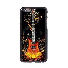 mode gitaar patroon aluminium koffer voor iPhone 6 - EUR € 3.99