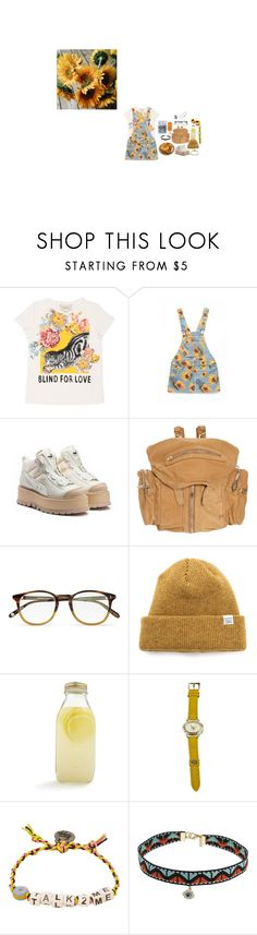 """""""#331"""" by floxpolimon ❤ liked on Polyvore featuring Gucci, Alexander Wang, Garrett Leight, Norse Projects, Bormioli Rocco, Fendi, Venessa Arizaga, Topshop and Topman"""