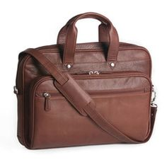 Under Arm Portfolio with Strap Leather Handle, Leather Men, Wall Pockets, Briefcase, Gym Bag, Arms, Mens Fashion, Zip, Accessories