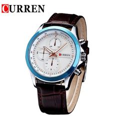 Original Top Men Business Leather Wristwatches Male Luxury Sports Waterproof Watch