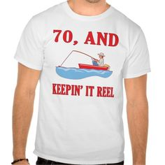 Deals 70th Birthday Fishing Gag Gifts T Shirt lowest price for you. In addition you can compare price with another store and read helpful reviews. Buy