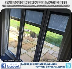 Between Glass Blinds for Bifold Doors