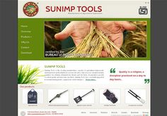 Tools for agriculture & farming Well Designed Websites, Agricultural Tools, Agriculture Farming, Web Design, Branding, Social Media, How To Make, Plants, Design Web