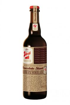 Männerschokolade: ein weiteres Bier-Design von Demner, Merlicek & Bergmann