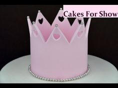 Vintage Style Crown Cake Tutorial- Rosie's Dessert Spot - YouTube