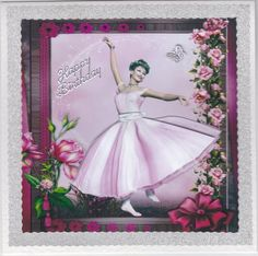 Card Gallery - 1950's Flower Ballerina Mini Kit