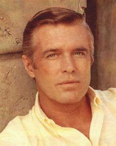 "George Peppard. Star of ""Breakfast at Tiffany's"" and the TV drama ""Banacek"""