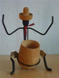 Annons på Tradera: Figurin 50-tals Bonfils mycket bra skick stringtavla