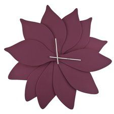 Lotus Wall Clock  -  designer: Dripta Roy  -  curated by James Andrew