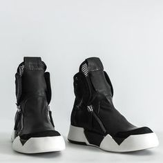 the best attitude 82ef4 1f5ff botas  estilo cyberpunk  negro Sneaker Boots, Shoes Sandals, Shoes Sneakers,  Nike