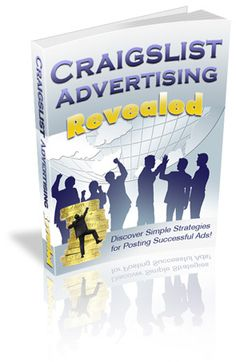 Craigslist Advertising Revealed - Instant Download http://www.tuberads.com