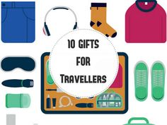 Not only are these 10 Christmas gifts for a traveller practical; they are also extremely thoughtful. Travel Gifts, Christmas Gifts, Day, Holiday Gifts, Christmas Presents