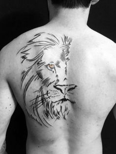 61 Best Stylish, Beautiful and Unique Tattoos for Men unique tattoos for men; unique tattoos for couples; unique tattoos for my son; unique tattoos for lost loved ones; unique tattoos for parents; unique tattoos for best friends Lion Back Tattoo, 42 Tattoo, Leo Tattoos, Body Art Tattoos, Sleeve Tattoos, Tatoos, Simple Lion Tattoo, Lion Chest Tattoo, Wrist Tattoo