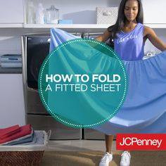 How to fold a fitted sheet step-by-step. Watch this quick video and win at folding a fitted sheet.