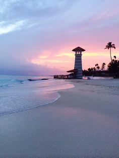 Sunset in Bayahibe