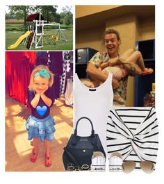 """""""(REQUEST) Babysitting Lux"""" by kama-chrtova ❤ liked on Polyvore featuring Topshop, Premonition, Michael Kors, Converse, Ray-Ban, Jeweliq, OneDirection, harrystyles, onedirectionoutfits and babylux"""