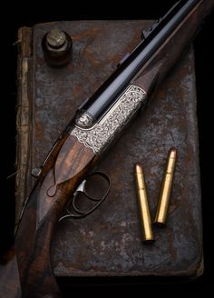 Westley Richards Droplock .470 double rifle.