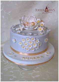Christening cake  by Tortolandia