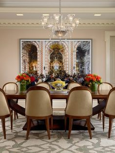Contemporary Dining Room - Sargent Interiors Photography