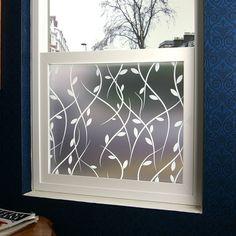 Vines Privacy Window Film (Adhesive)