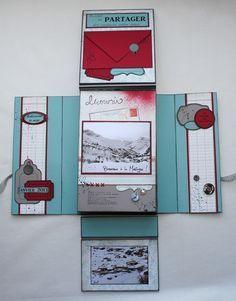 """Un mini fait d'après celui de Scrapucine """"Toutes ces photographies que j'aime""""le 26-09-2012"""