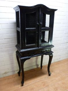 BIRD CAGE STYLE CABINET