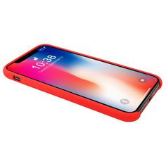 China Hot selling Silicone Case Red for iPhone X Back Cover Case with Retail Packaging