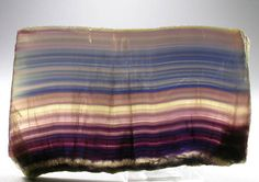 Rainbow Fluorite slab - China